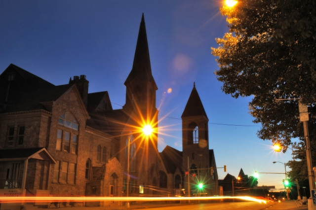 Burlington Iowa Historical Churches