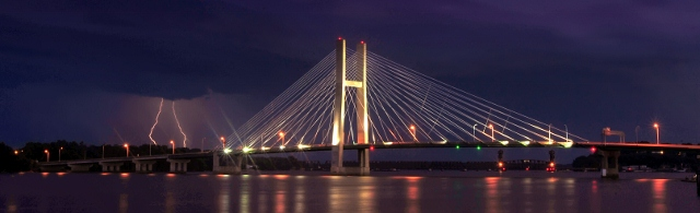 Great River Bridge - Burlington, Iowa