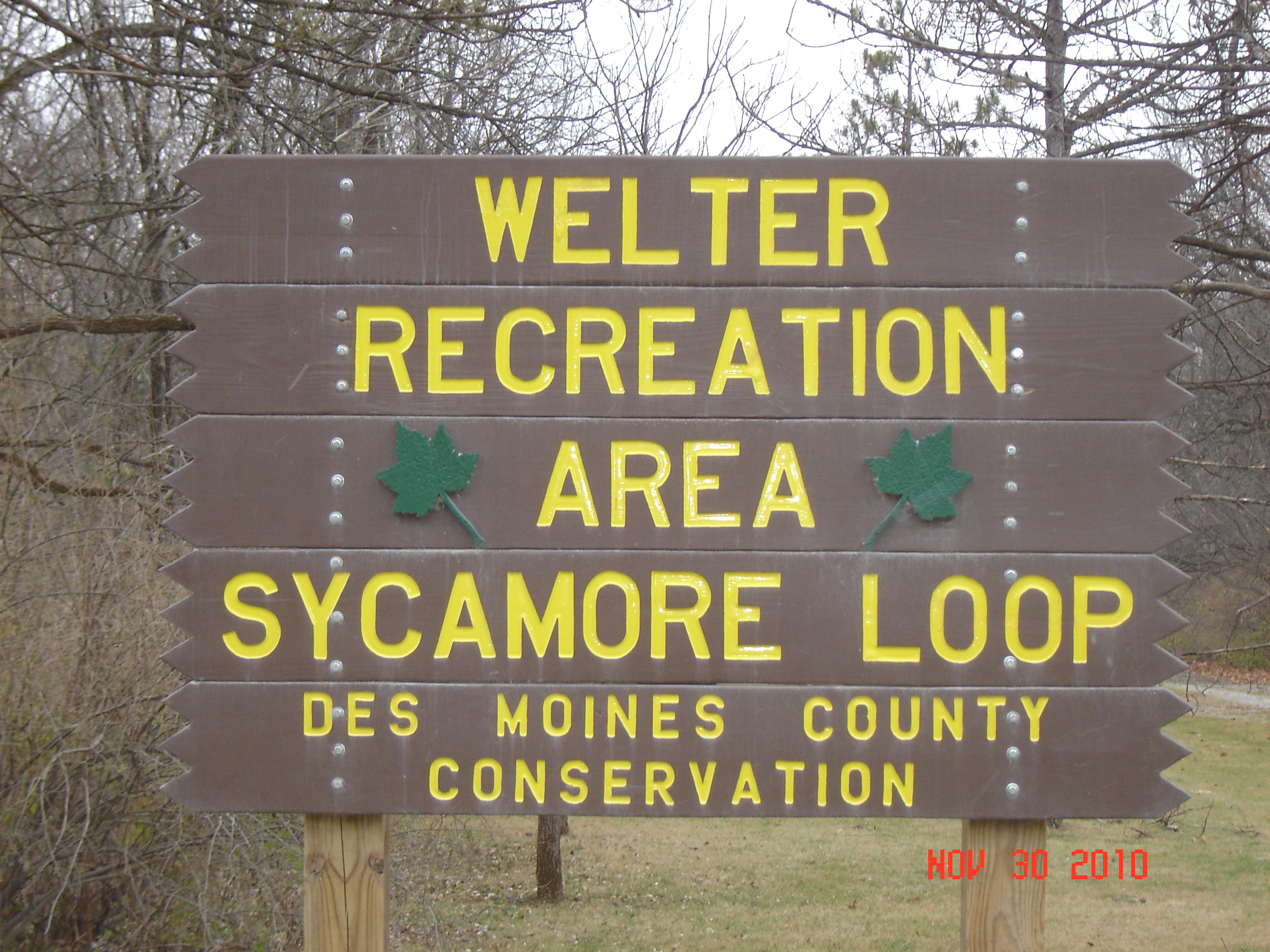 Welter Recreation Area